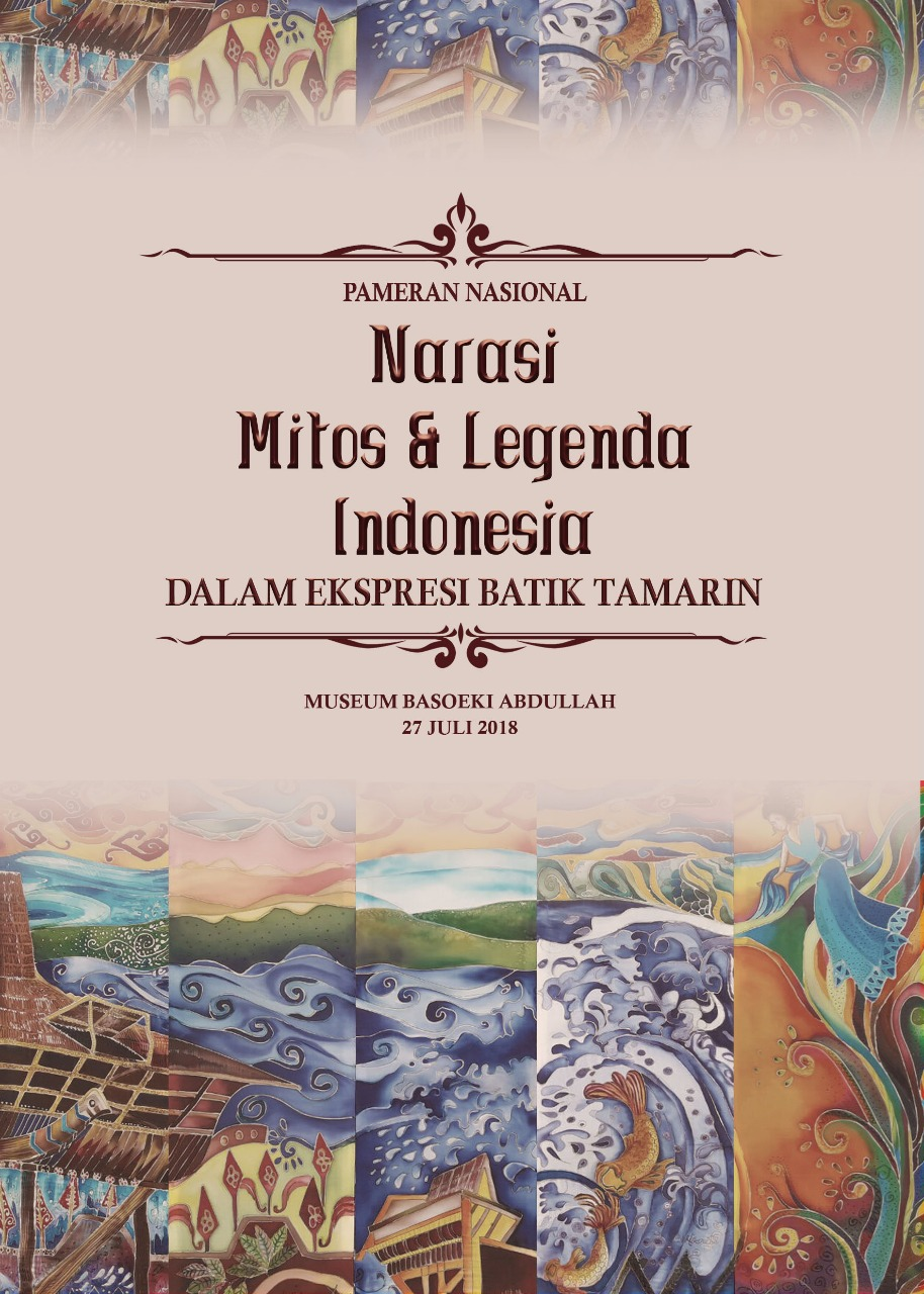 Pameran Narasi Mitos Legenda Indonesia Dalam Batik Lilin Dingin