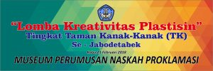 Read more about the article LOMBA KREATIFITAS PLASTISIN Tk. TK SE-JABODETABEK