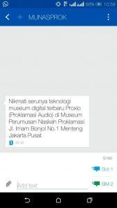 Read more about the article INOVASI PEMASARAN MUNASPROK: SMS BLAST AKAN MENGJANGKAU LEBIH BANYAK PENGUNJUNG