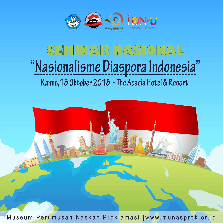 "Read more about the article SEMINAR NASIONAL: ""NASIONALISME DIASPORA INDONESIA"""