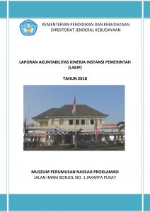Read more about the article LAKIP MUSEUM PERUMUSAN NASKAH PROKLAMASI 2018