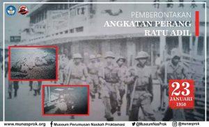 Read more about the article PEMBERONTAKAN ANGKATAN PERANG RATU ADIL: BANDUNG 23 JANUARI 1950
