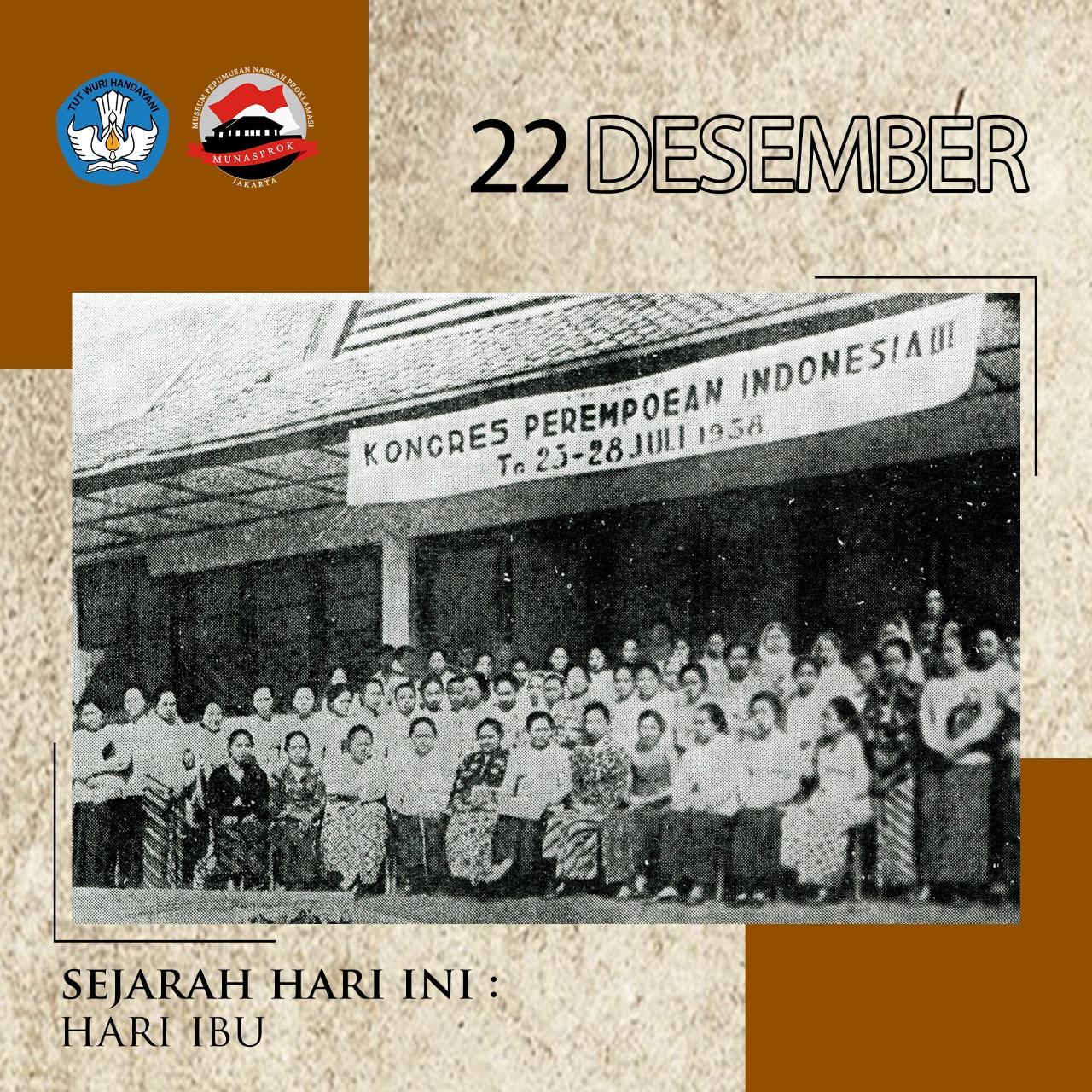 Read more about the article SEJARAH HARI IBU MENJADI HARI BESAR NASIONAL