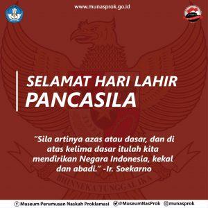 Read more about the article [SEJARAH HARI INI : Lahirnya Pancasila]