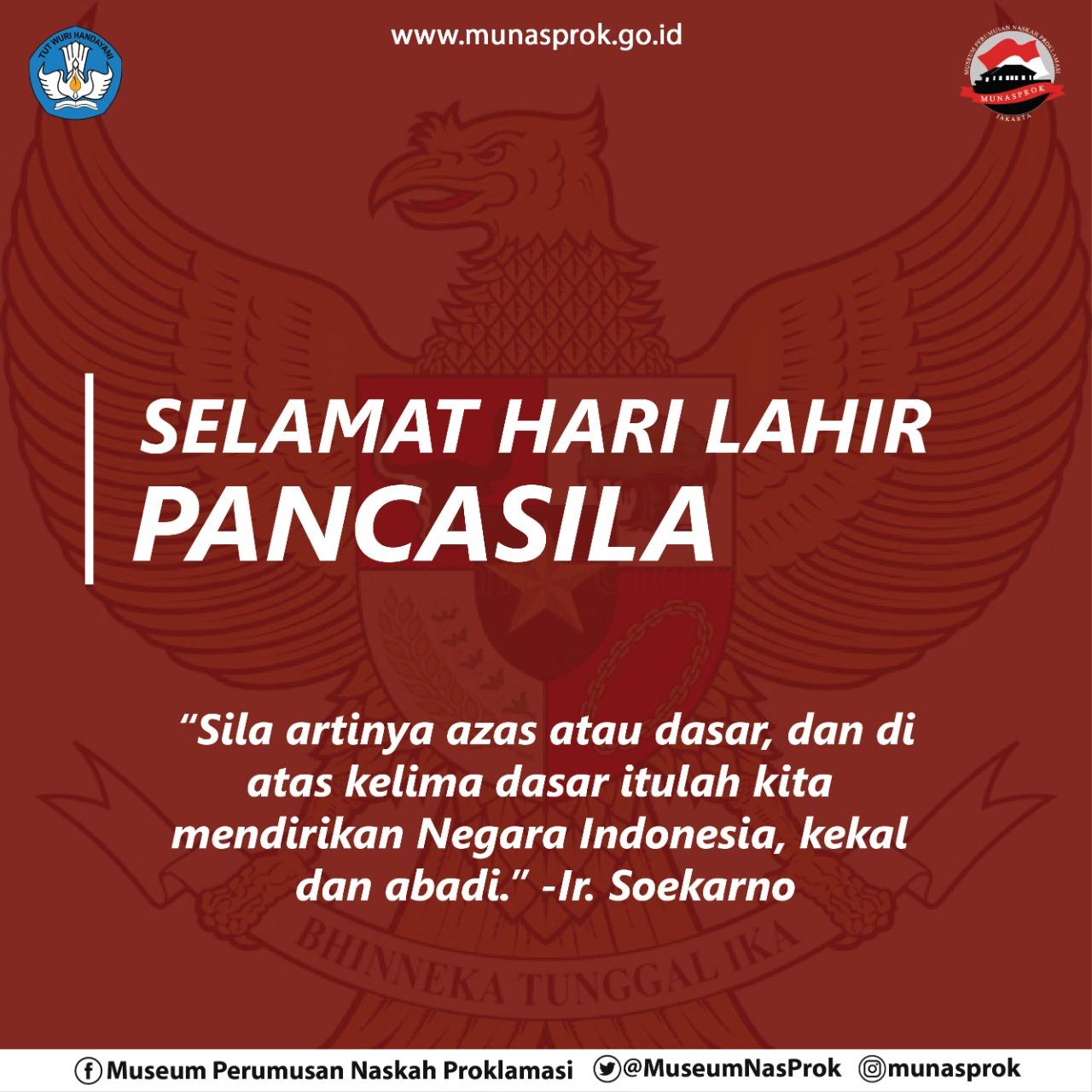 You are currently viewing [SEJARAH HARI INI : Lahirnya Pancasila]