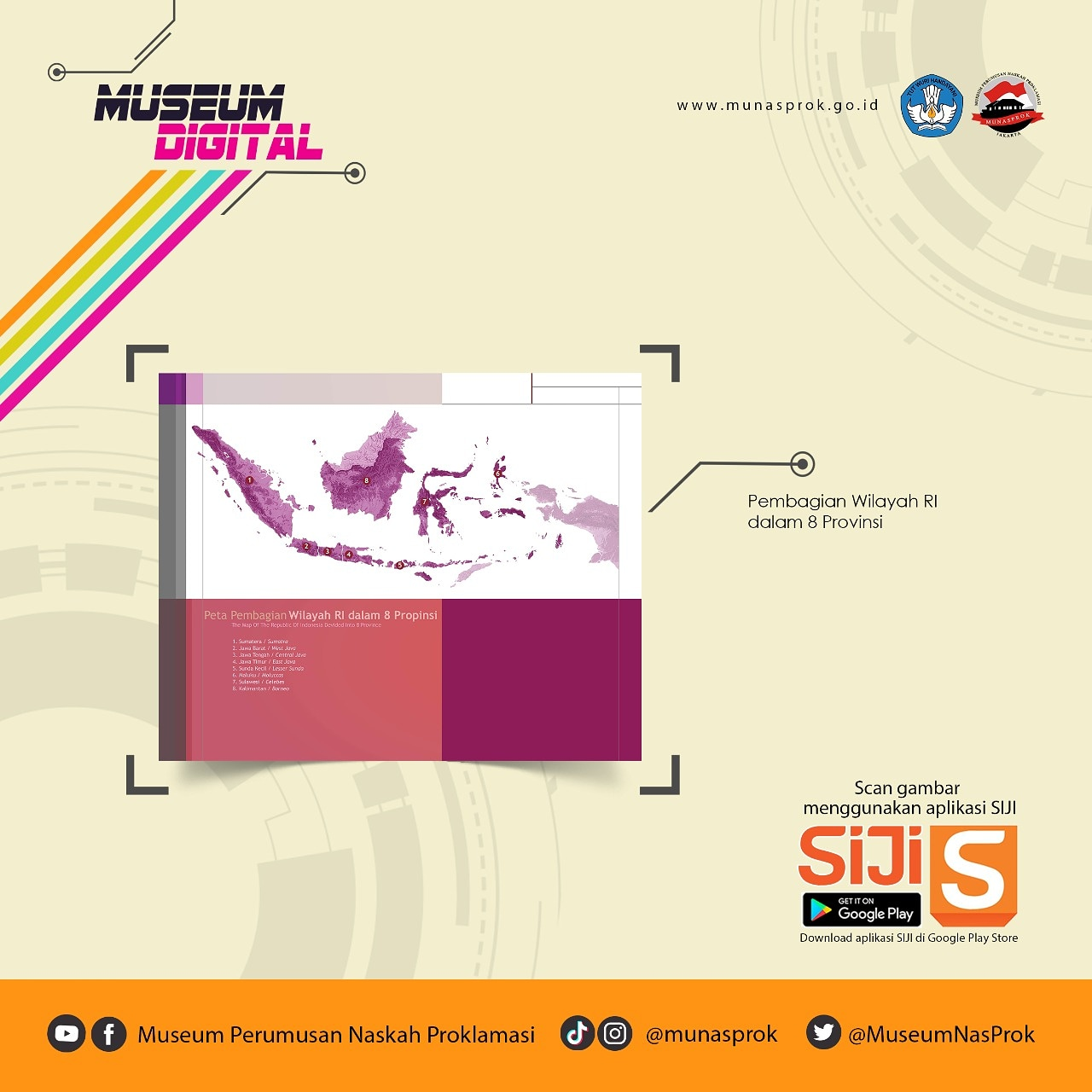 You are currently viewing [MUSEUM DIGITAL : 8 Provinsi pertama RI]