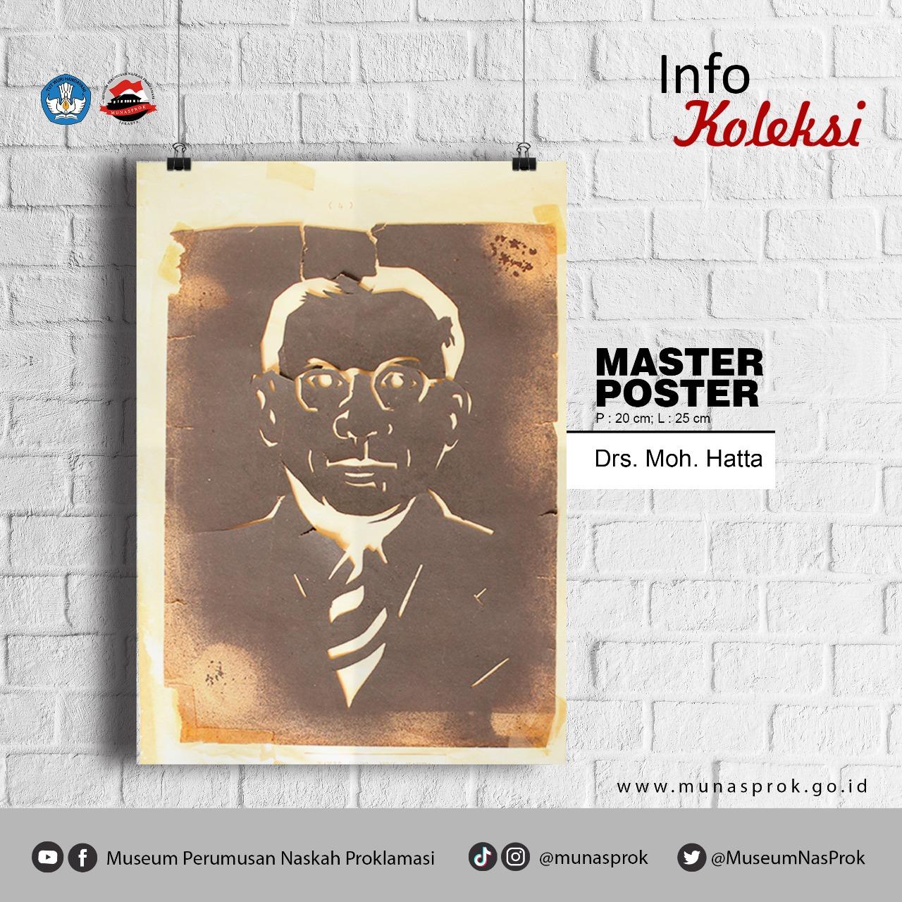 [INFO KOLEKSI : Master Poster Mohammad Hatta]