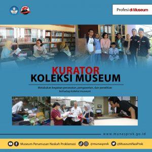 Read more about the article [PROFESI DI MUSEUM : Kurator Koleksi Museum]
