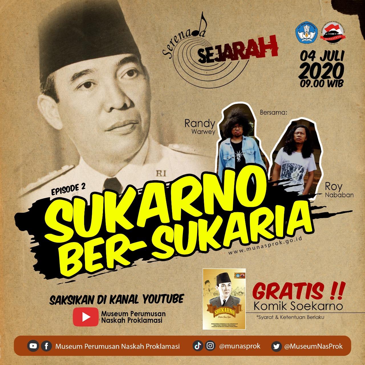 Read more about the article [INFO MUNASPROK : Serenada Sejarah Eps 2]