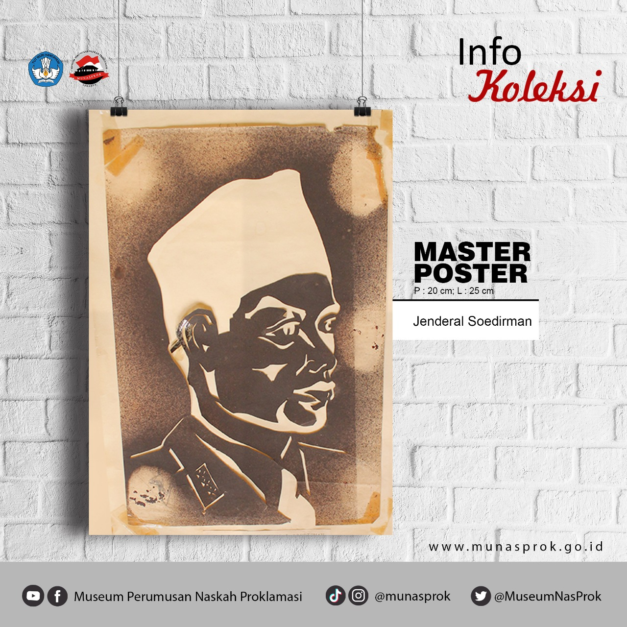 Read more about the article [INFO KOLEKSI : Master Poster Jenderal Soedirman]