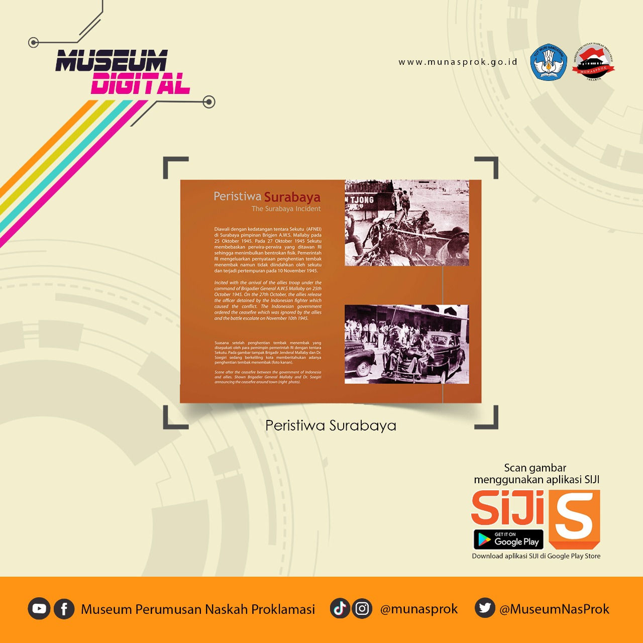Read more about the article [MUSEUM DIGITAL : Pertempuran Mempertahankan Kemerdekaan]