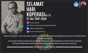 Read more about the article [SEJARAH HARI INI : Hari Koperasi]