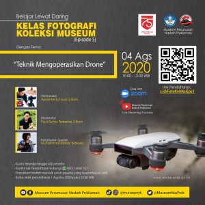 Read more about the article [INFO MUNASPROK : Kelas Fotografi Koleksi Museum – Episode 5]