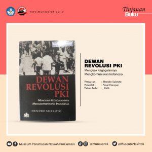 Read more about the article [TINJAUAN BUKU] – Dewan Revolusi PKI