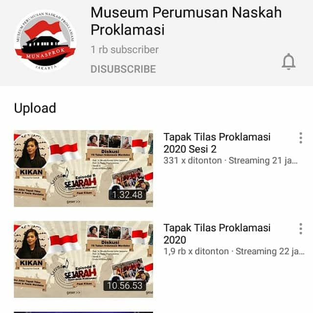 [Sejarah Hari Ini : Pembacaan Proklamasi Kemerdekaan Indonesia]