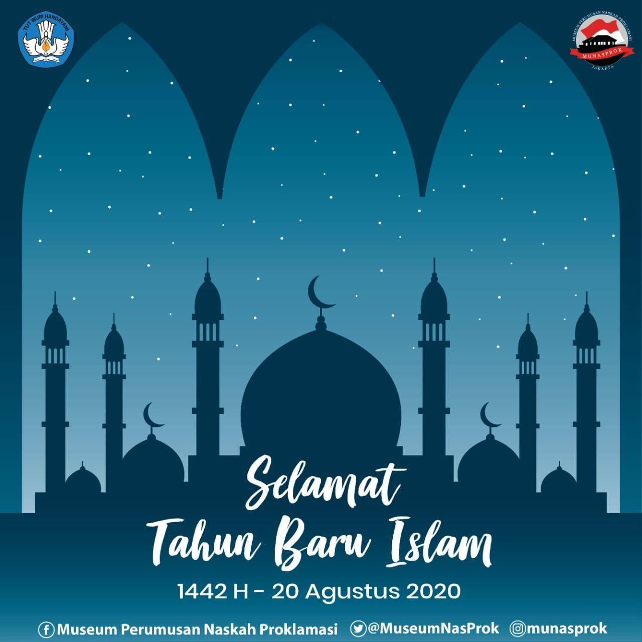 Read more about the article [INFO MUNASPROK : Tahun Baru Islam 1 Muharam 1442 Hijriah]