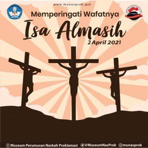Read more about the article [INFO MUNASPROK : Hari Libur Nasional : Memperingati Wafatnya Isa Almasih]