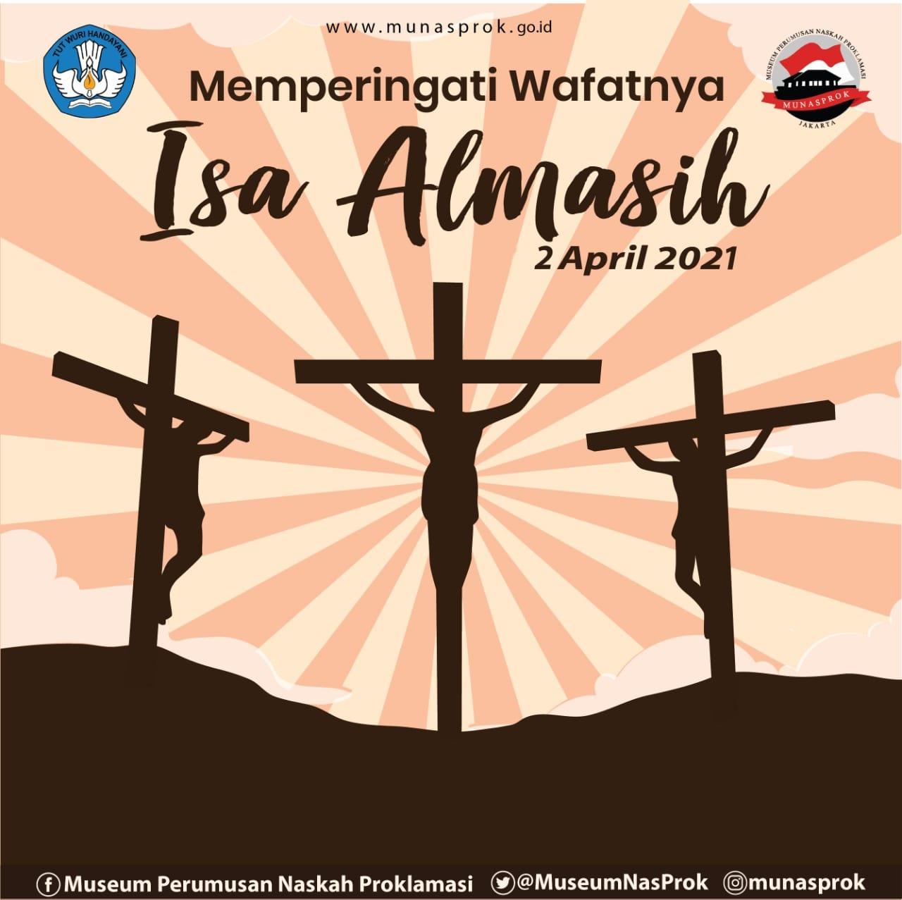 You are currently viewing [INFO MUNASPROK : Hari Libur Nasional : Memperingati Wafatnya Isa Almasih]