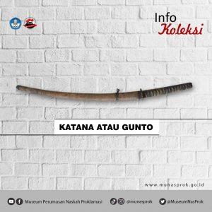 Read more about the article [INFO KOLEKSI : Katana / Gunto]