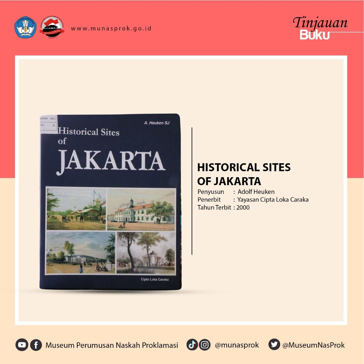 You are currently viewing [TINJAUAN BUKU] – Historical Sites of Jakarta