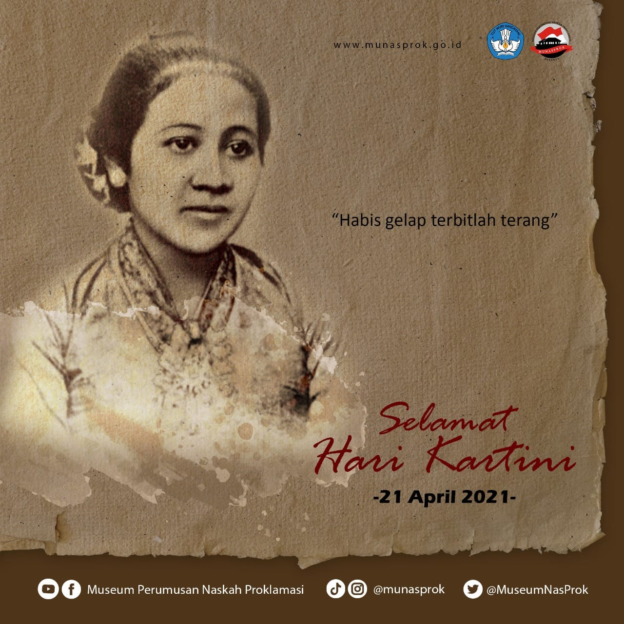 Read more about the article [HARI BESAR NASIONAL : Hari Kartini 21 April]
