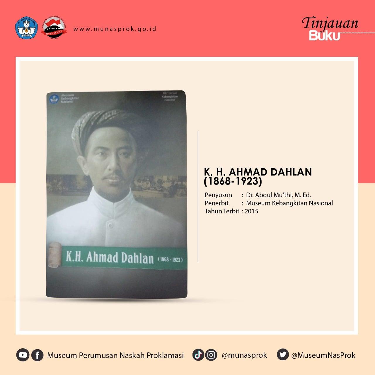 [TINJAUAN BUKU] – K. H. Ahmad Dahlan