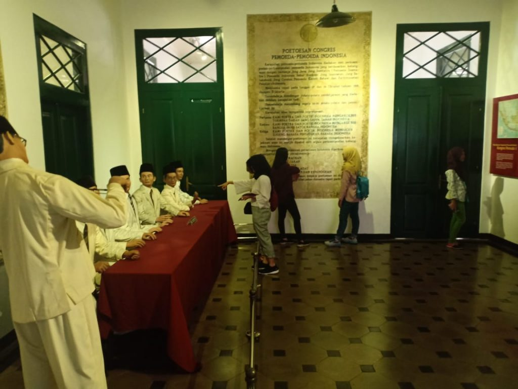 Ruang Kongres Sumpah Pemuda Peserta Didik Berkunjung Ke Museum Sumpah Pemuda Museum Sumpah Pemuda