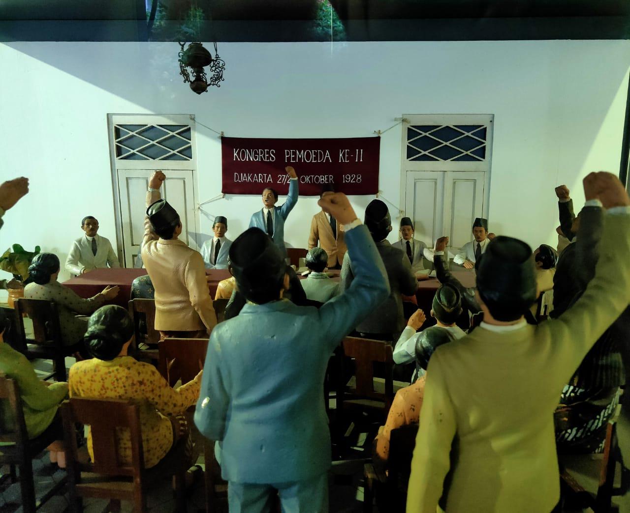 Ruang Kongres Sumpah Pemuda 91 Tahun Sumpah Pemuda Museum Sumpah Pemuda