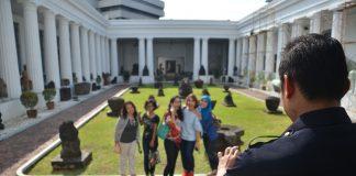 Pengunjung Museum Nasional