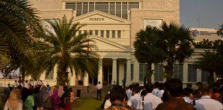 Upacara HUT RI ke 73 Museum Nasional