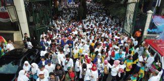 Ribuan peserta ikuti jalan sehat bersama Mendikbud, sambut Asian Games 2018