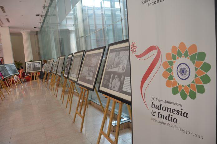 Pameran foto 70 tahun India-Indonesia,