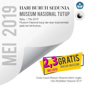 Read more about the article Hardiknas, Museum Nasional Gratiskan Kunjungan