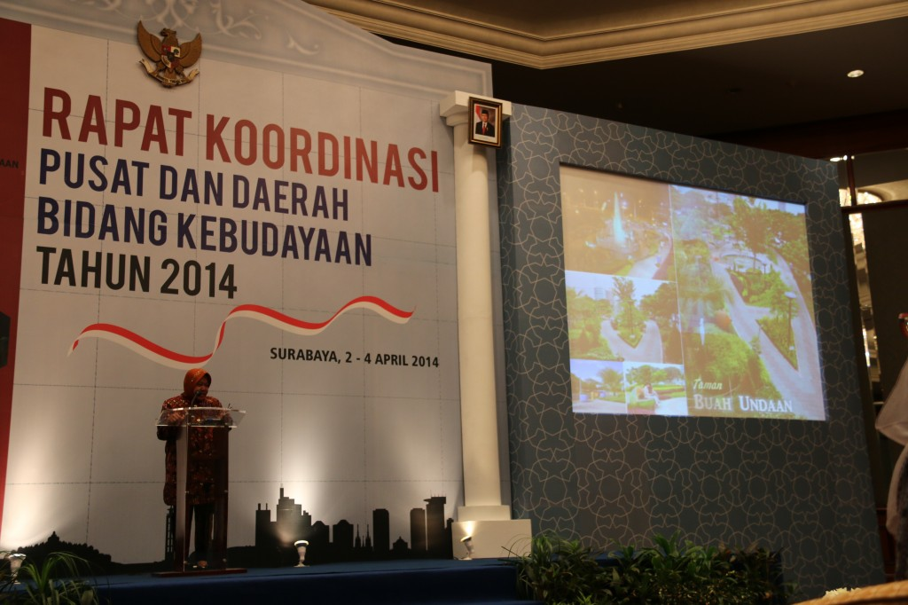Tri Rismahayani sambut peserta Rakor Bidang Kebudayaan