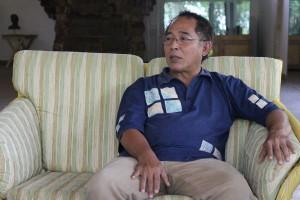Iman Rahman Bastaman, rekan seperjuangan Nyoman Nuarta sejak tahun 1973
