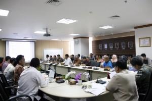 Suasana Rapat Persiapan Kemah Budaya