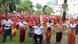 Read more about the article Ayo Menari Bersama 1000 Peserta di Museum Nasional