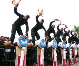 You are currently viewing Kesenian Rampak Bedug dari Banten