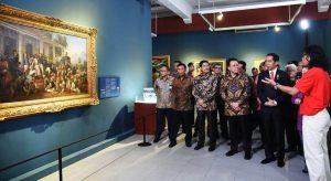 Read more about the article Pameran Koleksi Seni Rupa Istana Kepresidenan Pertama di Indonesia