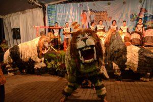 Singo Ulung Ramaikan Pekan Budaya Indonesia 2016