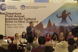 Read more about the article Kemdikbud Kirim Pegiat Budaya untuk Peningkatan Mutu Kebudayaan dan Pengembangan