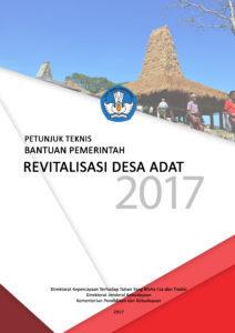 Read more about the article Petunjuk Teknis Revitalisasi Desa Adat 2017