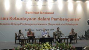 Read more about the article Seminar Kebudayaan: Peran Kebudayaan Dalam Pembangunan Nasional