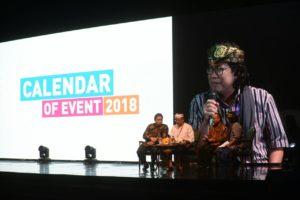 Read more about the article Ditjen Kebudayaan Siap Dukung Kalender Kegiatan Pariwisata 2018
