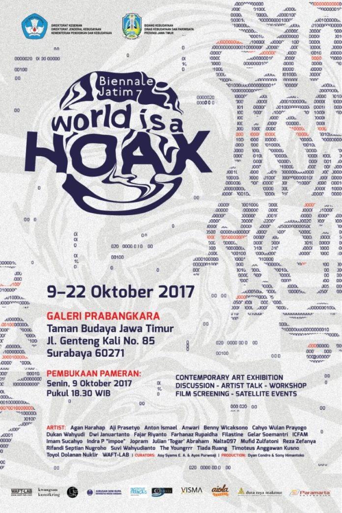 """Read more about the article Binnale Jatim 7 : """"World is a Hoax"""""""
