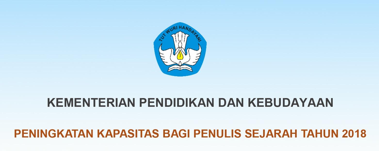 Read more about the article BIMBINGAN TEKNIS PENINGKATAN KAPASITAS BAGI PENULIS SEJARAH TAHUN 2018
