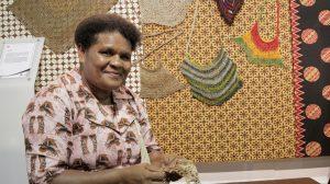 Martha Ohee, Pengrajin Kayu Papua Apresiasi Rembuknas 2018