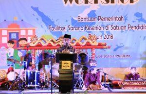 Read more about the article Bantuan Pemerintah Fasilitasi Sarana Kesenian Dorong Apresiasi Kesenian Daerah