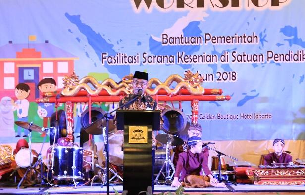 You are currently viewing Bantuan Pemerintah Fasilitasi Sarana Kesenian Dorong Apresiasi Kesenian Daerah