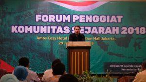 MASYARAKAT SEJARAWAN INDONESIA HARAPKAN FORUM PENGGIAT SEJARAH MENJADI AGENDA RUTIN